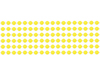 "S55087 - 33"" 7Mm Yellow Candy Beads"