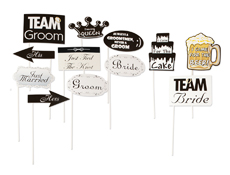 S57032 - Wedding Props On A Stick