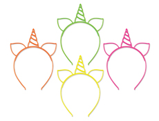 S57118 - Unicorn Headband Assortment