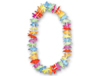 Rainbow Silk Flower Leis