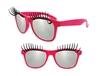 S59149 - Pink Eyelash Glasses