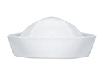 S6121 - Cloth White Sailor Hat