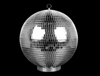 "S6184 - 8"" Disco Ball With Base"