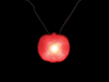 S6699 - Pumpkin Strobe Light Necklace