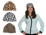 Animal Print Knit Hat Assortment