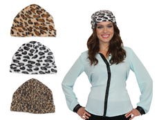 S70277 - Animal Print Knit Hat Assortment