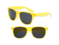 S70357 - Transparent Yellow Iconic Sunglasses - UV400