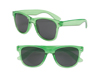 S70361 - Transparent Green Iconic Sunglasses - UV400
