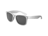 S70363 - Metallic Silver Iconic Sunglasses - UV400