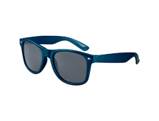 S70365 - Metallic Navy Blue Iconic Sunglasses - UV400