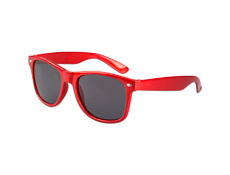 S70367 - Metallic Red Iconic Sunglasses - UV400
