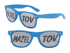 S70563 - Mazel Tov Pinhole Glasses - Blue