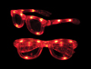S70589 - LED Iconic Glasses - Red