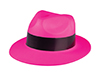 Neon Pink Gangster Hats