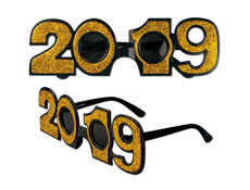 S71389 - 2019 Gold Glitter Glasses