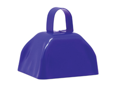 "3"" Blue Cowbell"