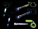 S81049 - Asst. Uv Flashlight Pen W/Cord