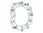 S8415 - White Carnation Leis