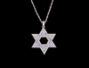 S8500 - Star Of David Bling Necklace