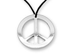 Peace Medallion Necklace