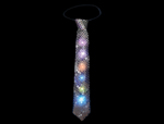 S90030 - LED Silver Sequin Tie