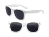 Rubberized White Iconic Sunglasses - UV400