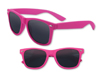 Rubberized Neon Pink Iconic Sunglasses - UV400