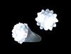 S90071 - Flashing Dome Ring - White LED