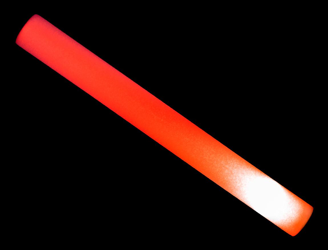 S90082 Led Foam Light Stick Red