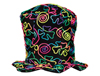 S90144 - Neon String Felt Top Hat