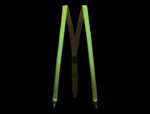 LED Suspenders - Green