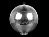 "20"" Disco Ball with Base"
