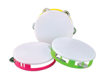 "WE121M - White Top 5.5"" Tambourines"