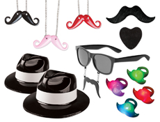 WP101MK - Mustache Bash Party Kit
