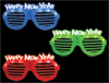 New Year LED Slotted Glasses