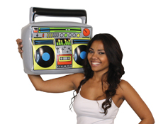 WP1186 - Inflatable Boom Box