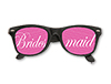 WP1240 - Bridesmaid Printed Lens Glasses