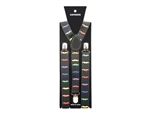 Colorful Mustache Suspenders