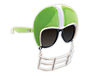 Green Football Helmet Game-Shade