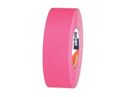 "1"" Fluorescent Party Tape - Neon Pink"