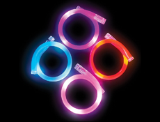 WP1410 - Flashing Bracelet Assortment