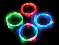 FLASHING LIGHT-UP NECKLACE