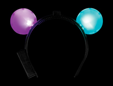 LED MOUSE EARS HEADBAND