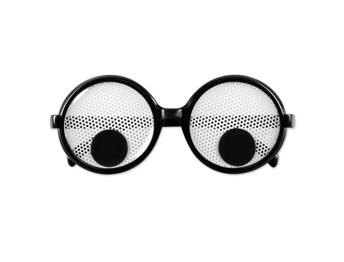 googly eye pinhole glasses