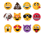WP1450 - Foam Emoticon Mask