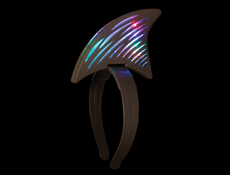 WP1459 - LED Shark Fin Headband