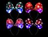 "WP1476 - 10"" Light-Up Polka Dot Headband assorted"