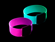 WP1479 - Cosmic Color Change LED Bracelets