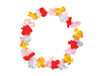 WP23 - Silk Flower Leis