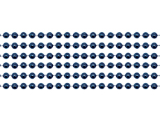 WP3NB - Navy Blue Beads